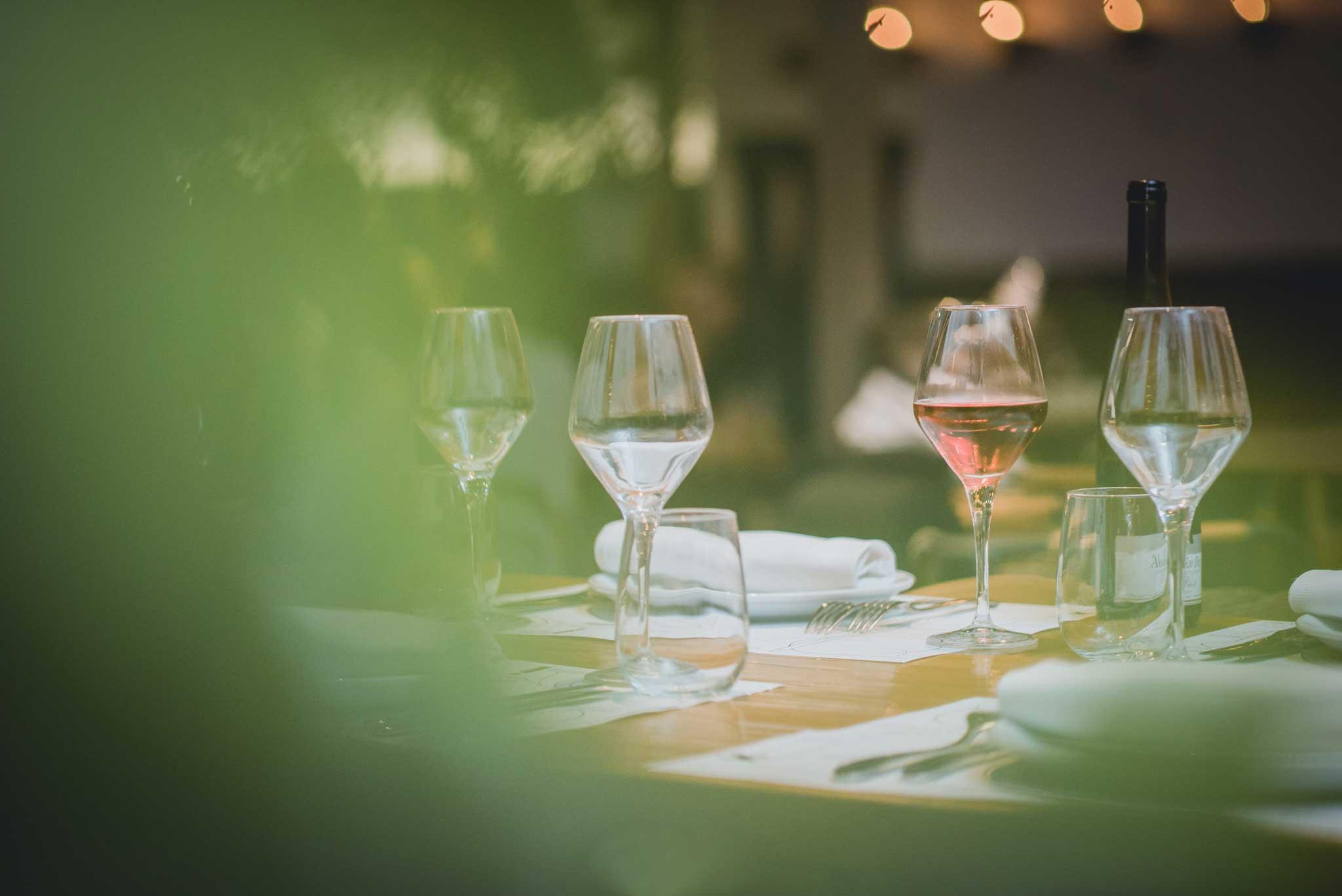 Distinto Wines Menu